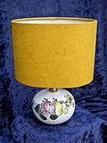 A/ T00  Lampe Roses rose et jaune