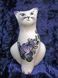 Figurine animale de collection faience