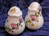 Duo Sel et Poivre, décor pois de senteur rose
